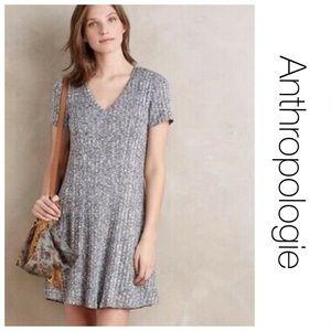 Anthropologie Dolan Gray Ribbed Dress S